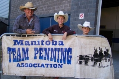MTPA FINALS Brandon, Manitoba September 19 & 20, 2015 JUNIOR YOUTH CLASS WINNERS L - R Clint Masse, Brent Masse, Dylan Byrne