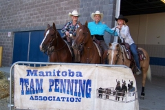 MTPA FINALS Brandon, Manitoba Sepember 19 & 20, 2015 OPEN CLASS WINNERS & # 8 CLASS WINNERS L - R Arlene Bruneau, Rick Andrews, Chris Martens
