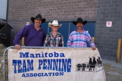 MTPA FINALS Brandon, Manitoba September 19 & 20, 2015 # 10 CLASS 2nd Place L - R Darcy Brown, Arlene Bruneau, Dale Barkman