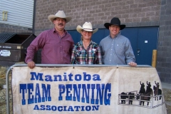 MTPA FINALS Brandon, Manitoba September 19 & 20, 2015 # 10 CLASS WINNERS L - R Robert Bruneau, Arlene Bruneau, Shawn Parsons