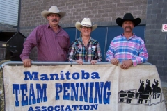 MTPA FINALS Brandon, Manitoba September 19 & 20, 2015 OPEN CLASS 2nd Place L - R Robert Bruneau, Arlene Bruneau, Dale Barkman