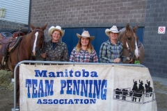 MTPA FINALS Brandon, Manitoba September 19 & 20, 2015 HI PT # 3 TEAM L - R Shelley Dickson, Carolyn Scramstad, Bonnie Warkentin